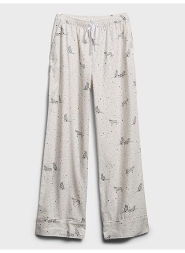 Banana Republic Desenli Pijama Altı Siyah